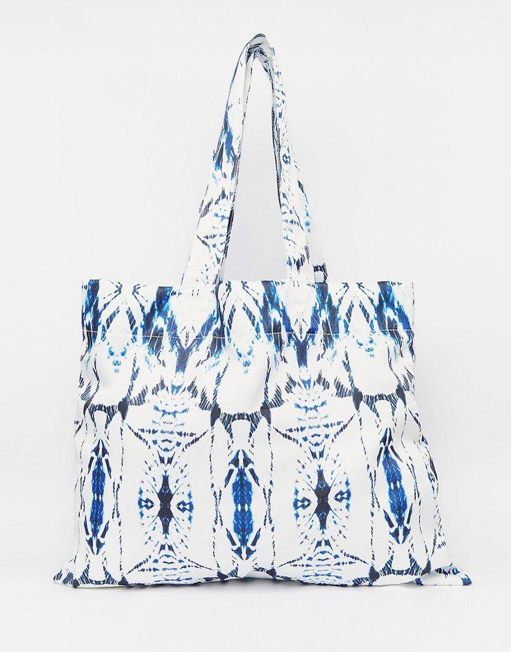 Image 1 ofASOS JASMINE Co-ord Oversized Beach Bag