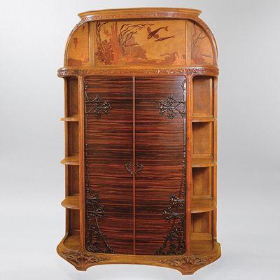 538 best BF - Art Nouveau Furniture images on Pinterest   Art ...