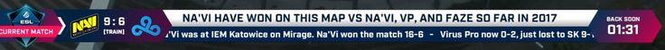 Navi has won against Navi? #games #globaloffensive #CSGO #counterstrike #hltv #CS #steam #Valve #djswat #CS16
