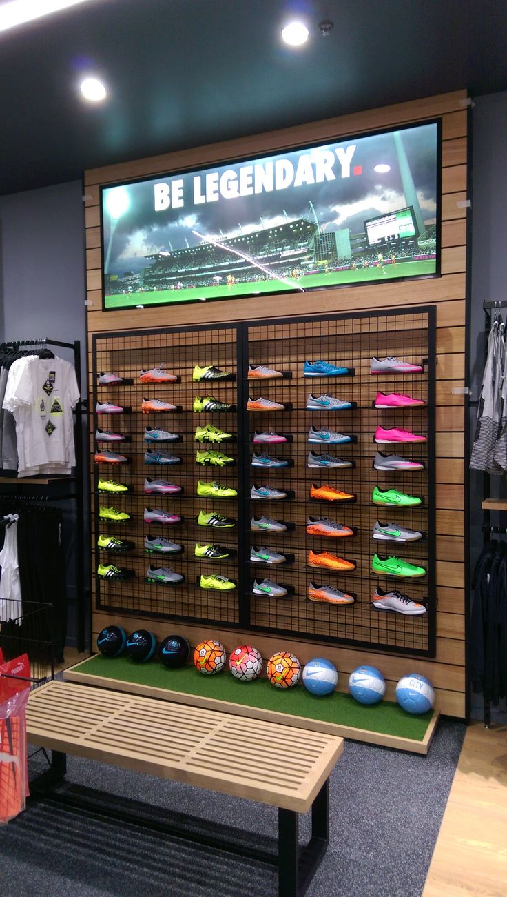 Wall display for Sportsco