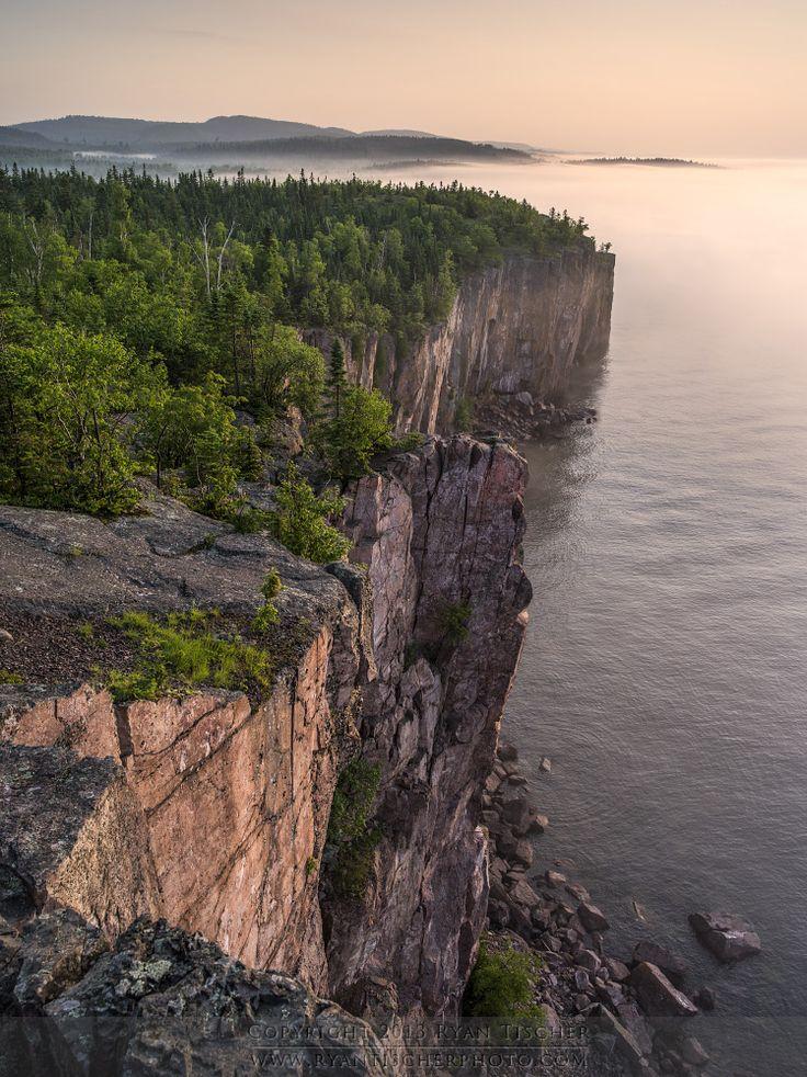 """Palisade Head"" Lake Superior - Tetteguche State Park"