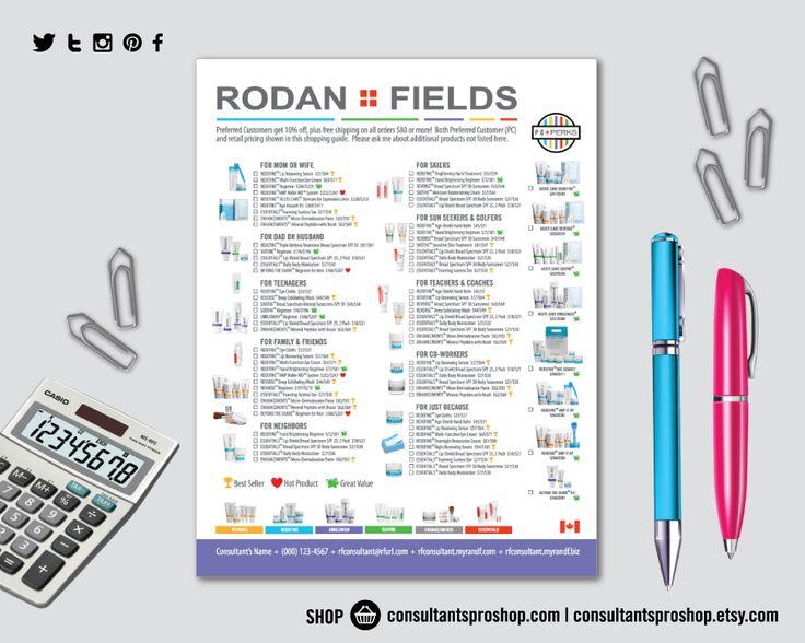 Best Rodan  Fields Order Sheets Images On