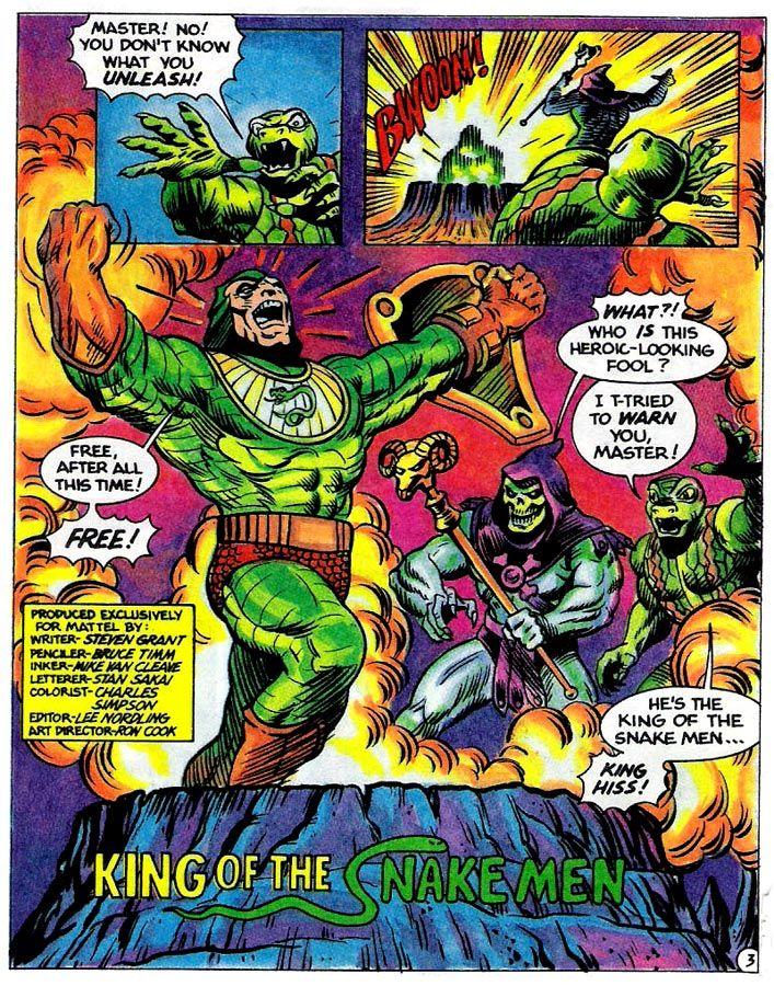 80s Masters of the Universe, King Hiss, Kobra Khan ...