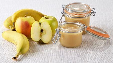 Conserves maison - Compote pommes/bananes en conserve