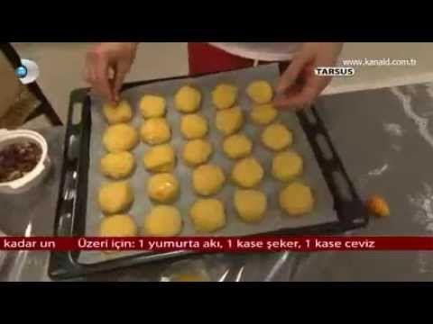 Portakallı Kurabiye Tarifi - YouTube