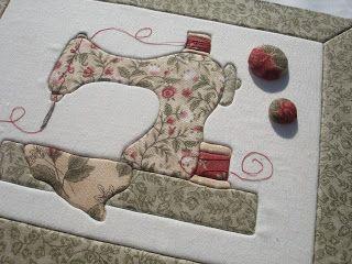 Rosa Choc Atelier d'Artes: Caixa de costura / Sewing box