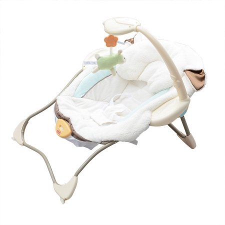 Little Lamb Infant Seat Baby Rocking Chair Baby Vibration Bouncer Seat