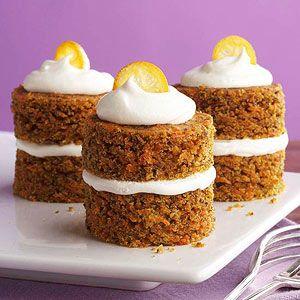 Diabetic Carrot Cake Cupcakes Recipe