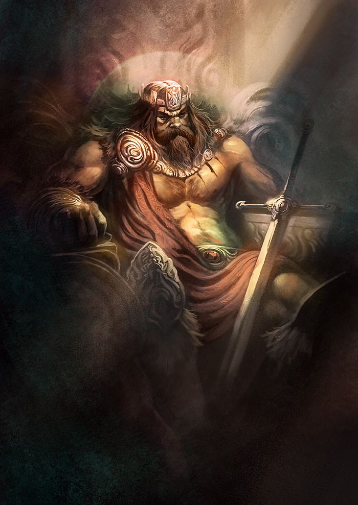 Conan Rey por Xavier Collette para el Conan de Monolith Games