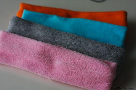 CraftSanity – A blog and podcast for those who love everything handmade » Handmade Sweatband, Wristband tutorial