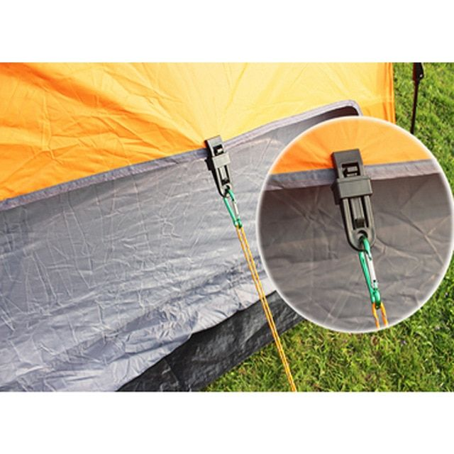 6 Pcs Sets Selling Tents Awning Wind Rope Clamp Awnings Outdoor Camping Plastic Clip Clip Tents Awning Accessories Review With Images Tent Awning Awning Accessories Tent
