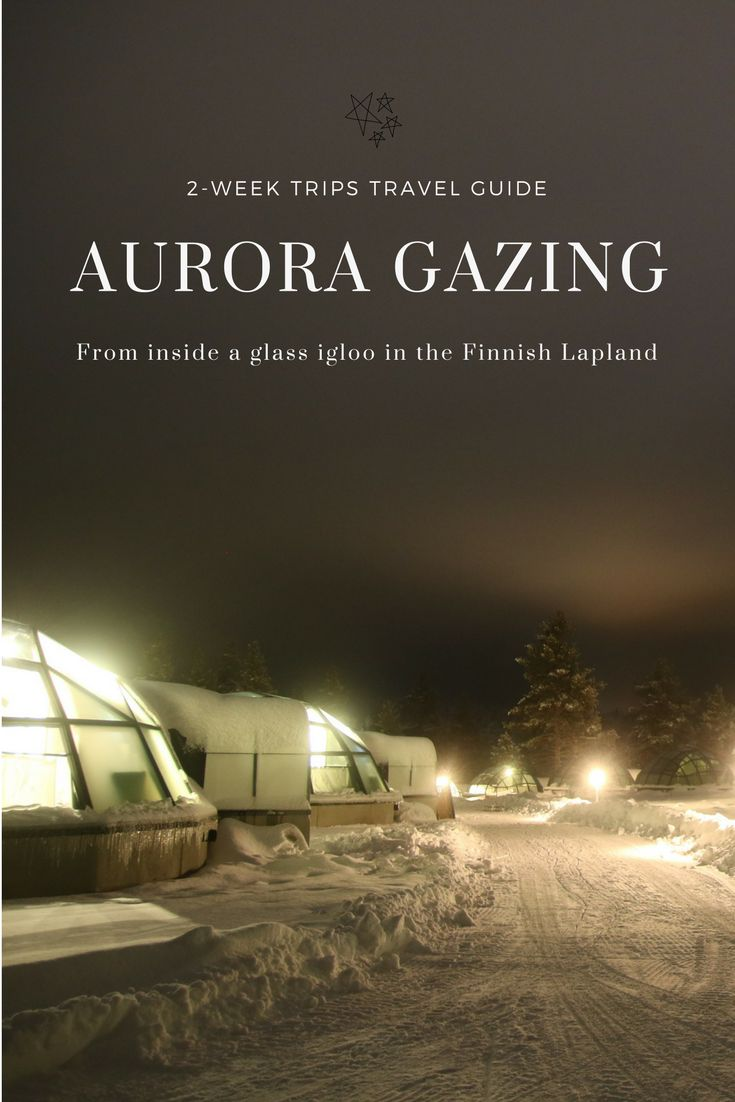 Watch the Aurora Borealis dance from the comfort and warmth of a glass igloo. Read on for more on staying at the Kakslauttanen resort in the Finnish Lapland.