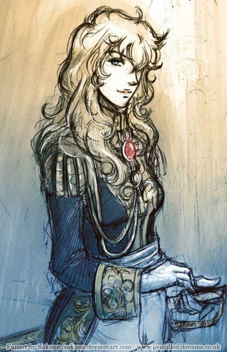J'ai passionnément suivi la série Lady Oscar...Je dois avouer que je ne réalisais pas, à ce moment-là, que ce personnage protégeait les aristocrates français de la Révolution...Mais, bon. Sinon, avec le recul, j'ai l'impression que le chevalier d'Éon a dû passablement inspirer la création de ce personnage: http://fr.wikipedia.org/wiki/Charles_de_Beaumont,_chevalier_d'%C3%89on .