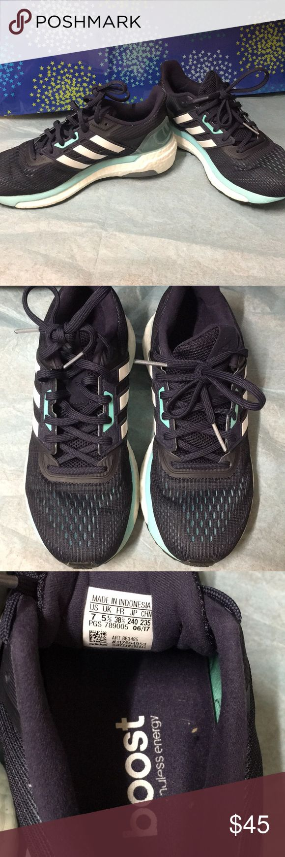 Adidas Boost endless energy sneakers Adidas Boost endless energy sneakers size 7 adidas Shoes Athletic Shoes