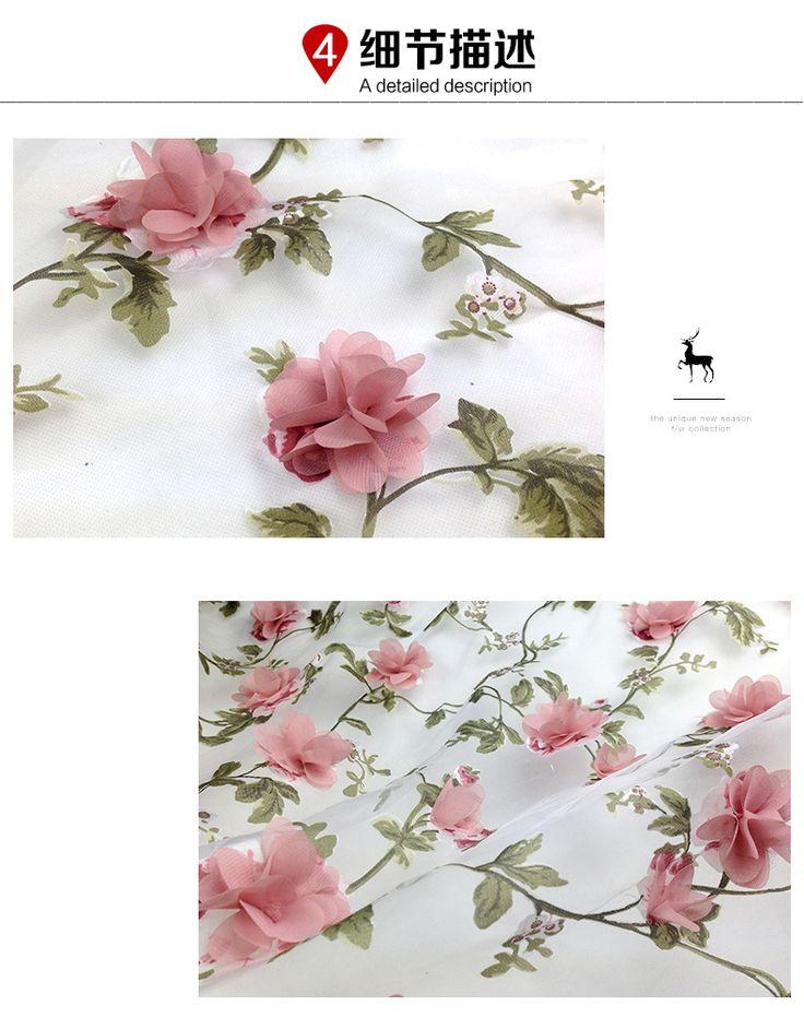 Цянь Юань месяц органза вышитые ткани материальные трехмерные вышитые шифона платье ткани свадебные платья оптовой -tmall.com Lynx