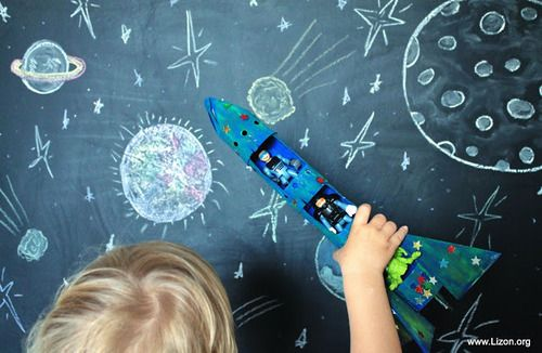 Welcome back to my DIY round up! Today I dedicate the post to outer space crafts for kids. Stars, planets, rockets and more! Space is such a great theme for playing and learning (or for a themed party). Choose the craft according to taste and age of the child and have fun with it!   DIY …