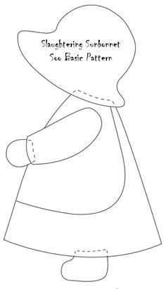 sun-bonnet-sue-pattern-basic.jpg. This is the pattern my Mom used for a quilt she made for Laura.