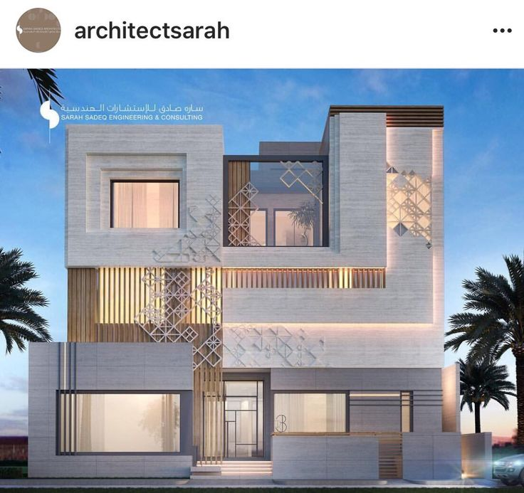 225 best modern islamic architecture images on pinterest for Villa moderne design