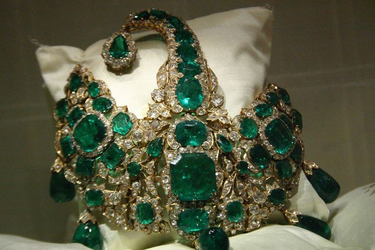 The Jewels of the Nizams of Hyderabad State are the largest and richest collection of jewels in India