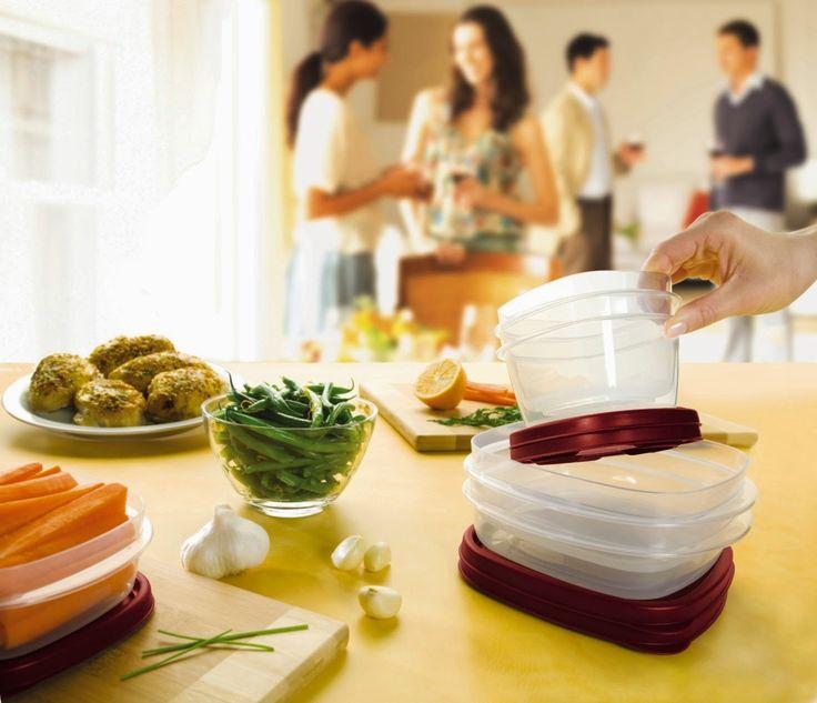 Rubbermaid 42-Piece Easy Find Lid Food Storage Set ~ HOME DESIGN KITCHEN IDEAS