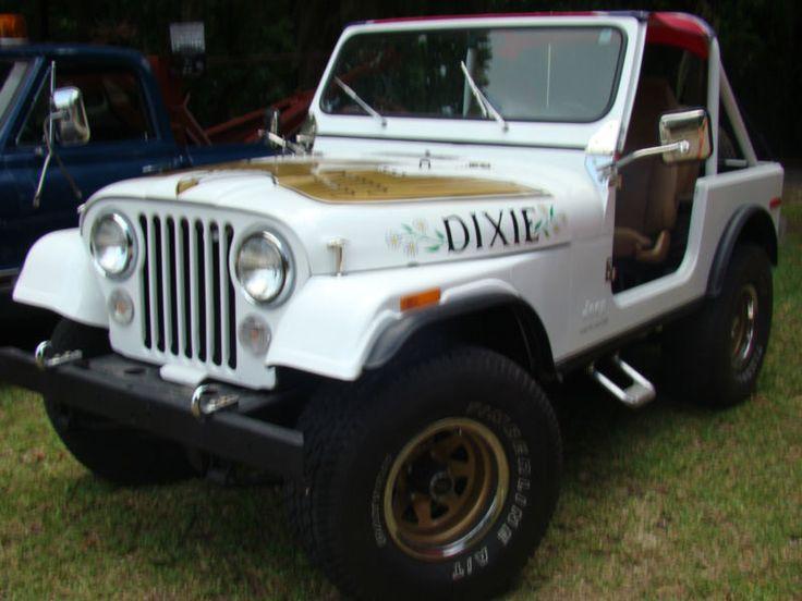 Daisy Dukes Jeep ....... Oh Daisy, where are you now?