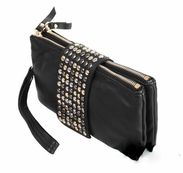We love this small studded clutch
