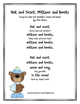 Adorable original poetry to teach students about staying warm while teaching winter clothing vocabulary! If you like the poem, please consider ...