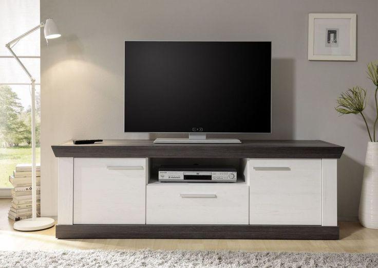 Die besten 25+ Lowboard weiß holz Ideen auf Pinterest Ikea tv - eckschrank weis wohnzimmer