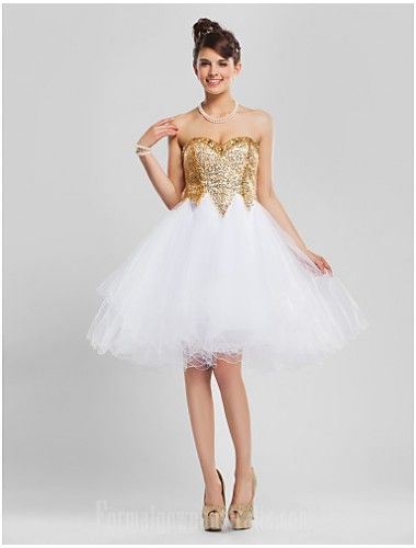 224dfd92897  goldformaldress Australia Cocktail Party Dresses Prom Gowns Sweet 16 Dress  Gold Plus Sizes Dresses Petite A-line Princess Ball Gown Strapless  Sweetheart ...