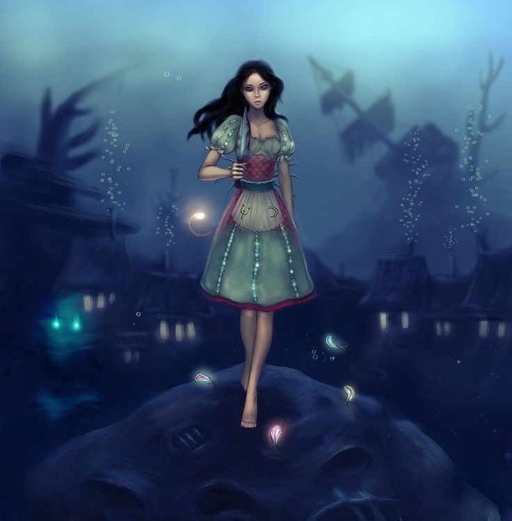 Картинки алис в стране кошмаров