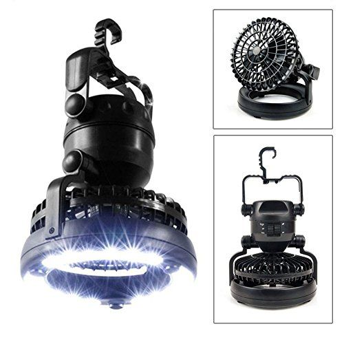 LED Lantern,IMAGE Bright Portable LED Camping Lantern Flashlights with Ceiling Fan, Camping Gear Equipment for Outdoor Hiking, Camping Supplies, Emergencies, Hurricanes, Outages