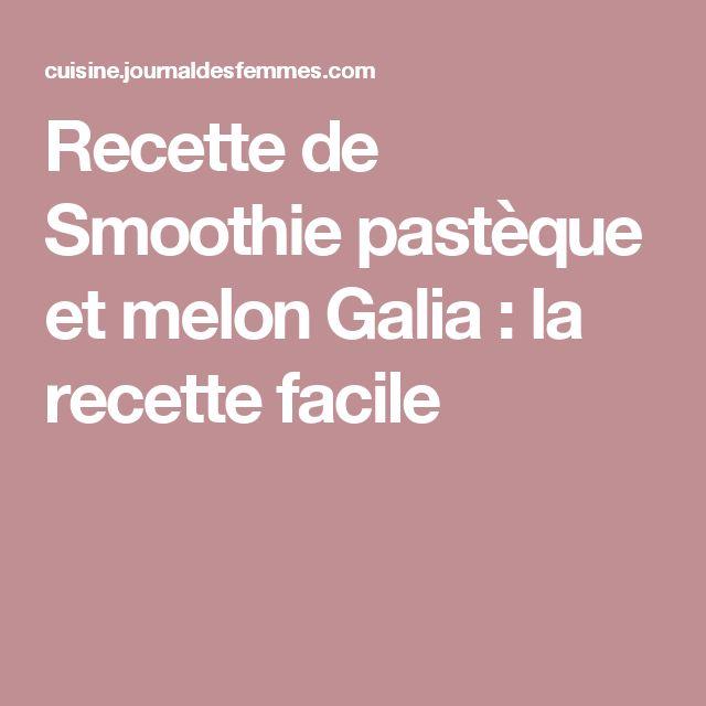 Recette de Smoothie pastèque et melon Galia : la recette facile