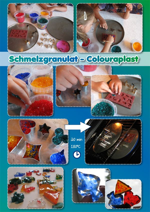 Schmelzgranulat � Colouraplast