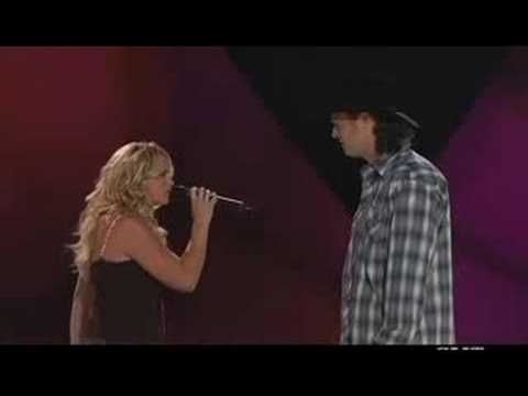 Watch the moment in 2005 when Blake Shelton fell in love with Miranda Lambert | Rare
