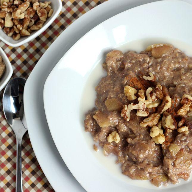 ... oatmeal on Pinterest   Overnight Oats, Apple Pie Oatmeal and Oatmeal