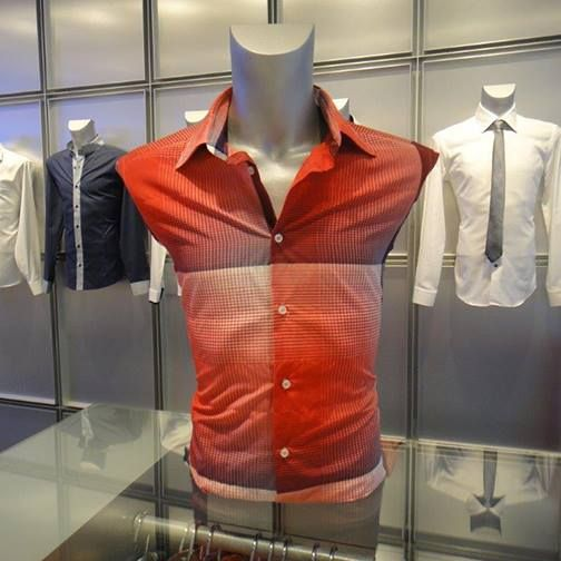 Red Summer Shirt Available in Store or Call (02)93581114 #Shirt #Sale #Fashion #NaraCamicie #Fashionable #Style #Modern #Trendy #OOTD #Discounts #Special #Clothes