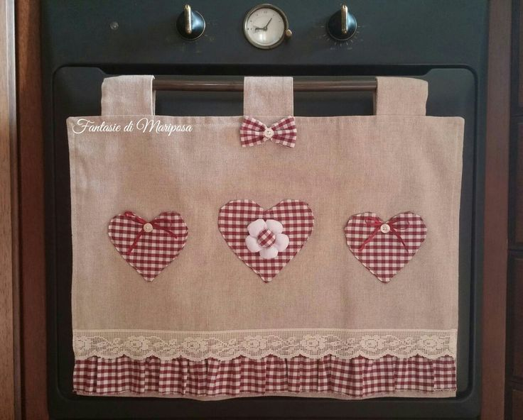 Copriforno country chic - Idea regalo