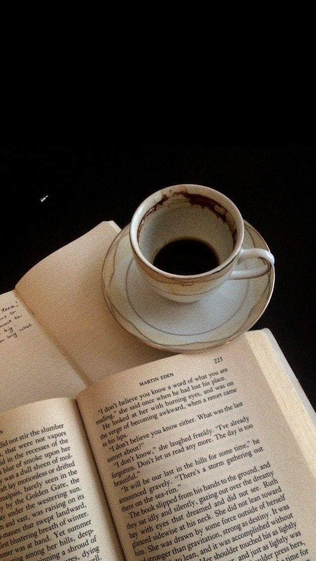 Book Coffee Lockscreen Light In The Dark Dark Aesthetic Coffee And Books