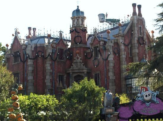 Haunted Mansion at Tokyo Disneyland