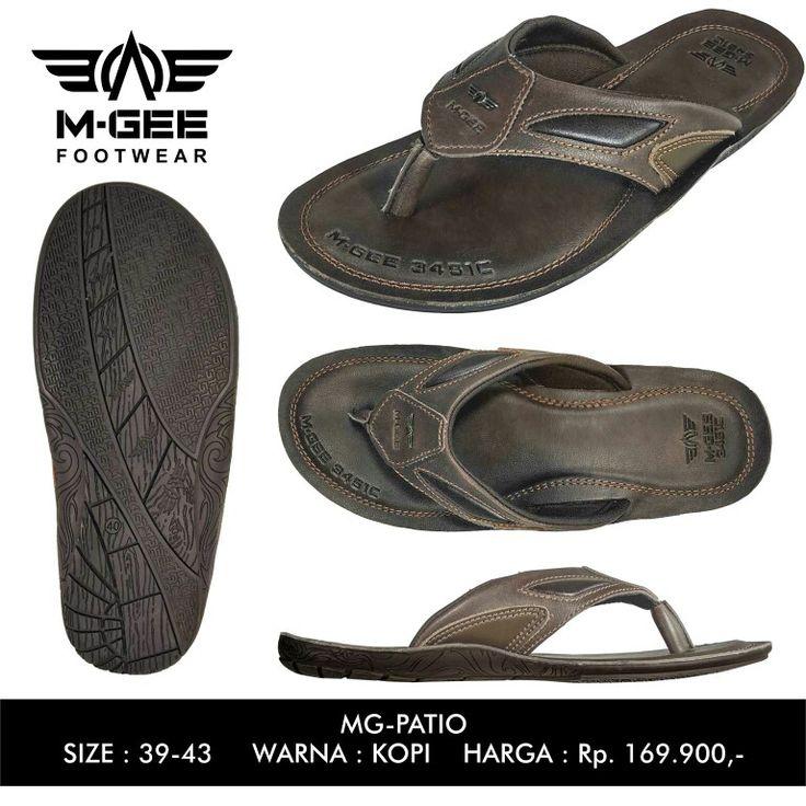 M-GEE Footwear MG-PATIO Kopi