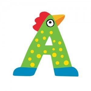 Ξύλινο Γράμμα Α Χαρούμενα και πολύχρωμα ζωάκια μεταμορφώνονται σε ξύλινα γράμματα για μία ξεχωριστή νότα διακόσμησης στο δωμάτιο του παιδιού! Κολλήστε τα στην πόρτα του παιδικού δωματίου ή στον τοίχο επάνω από το κρεβατάκια των παιδιών, βάλτε τα σε φελλοπίνακα για ένα ξεχωριστό μήνυμα, μάθετε την αλφάβητο….παίξτε με αυτά! Μία πρωτότυπη πρόταση της εταιρείας Tatiri. Ξύλινα γράμματα του ελληνικού και του λατινικού αλφάβητου που μπορούν να κολληθούν στις...