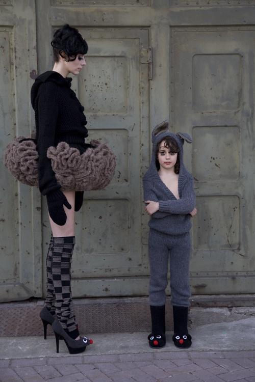 Designer: Sarena Huizinga, photographer: Mariëtte van Soesbergen, make-up artist: Janet Brakel, models: Leanne Eline & Jasper Brakel