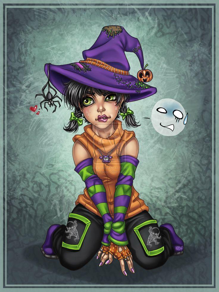 Ведьма смешная картинки