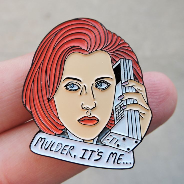 Scully pin by Robin Eisenberg
