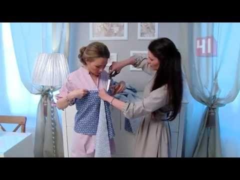 Платье без выкройки за 15 минут!