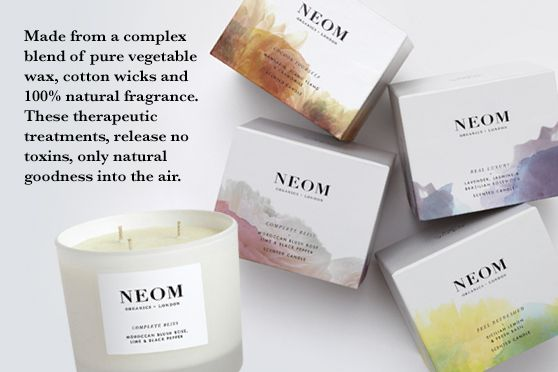 NEOM Candles LOVE them all.