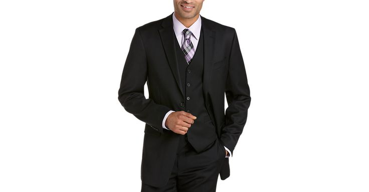 Check this out! Tommy Hilfiger Black Modern Fit Suit Separates Coat (Outlet) - Suit Separate Coats from MensWearhouse. #MensWearhouse
