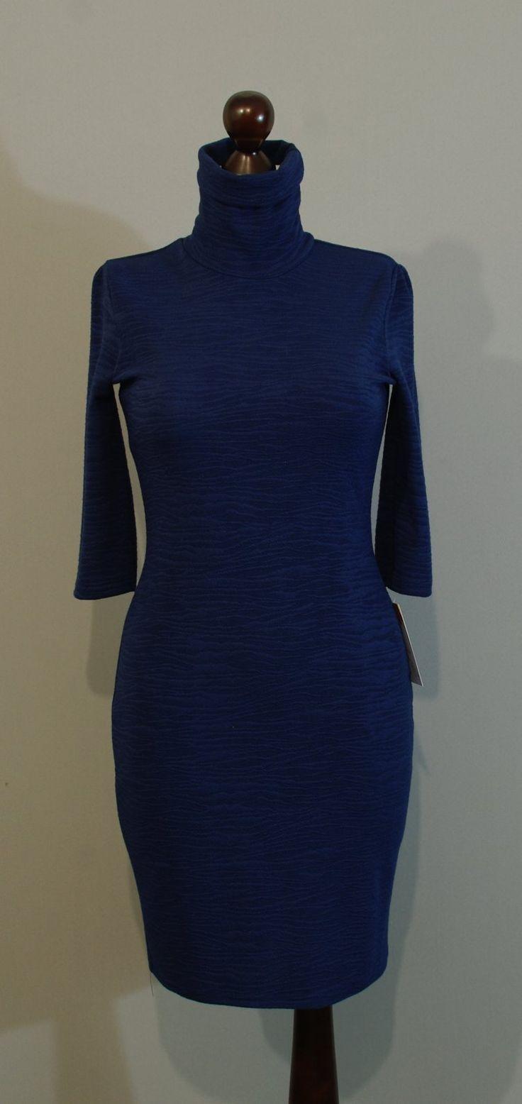 Темно-синее платье гольф купить на сайте Платье-терапия (87)
