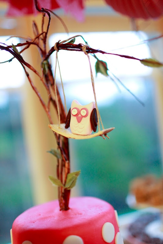 Owl Cake Topper.