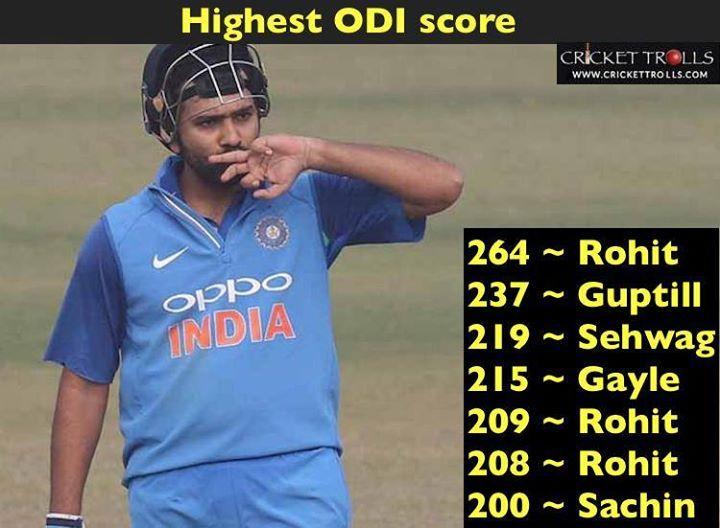 Domination level Rohit Sharma - http://ift.tt/1ZZ3e4d